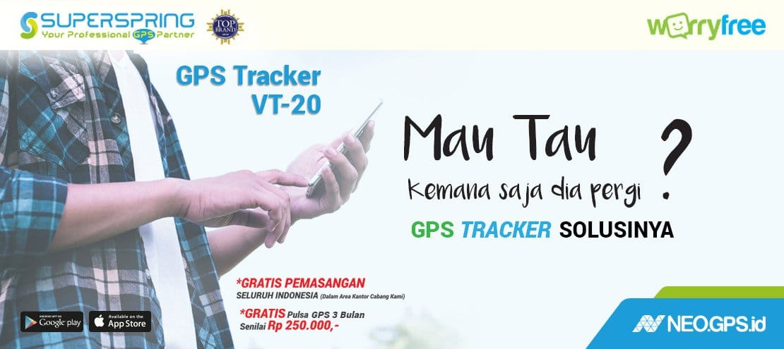 jual gps tracker superspring vt20 murah